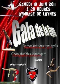 Gala de la Gym 18 juin 2011